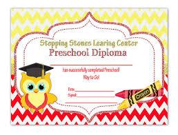 preschool graduation diploma owl graduation diploma diy printable preschool kindergarten