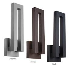Outdoor Wall Sconce Modern Modern Forms Tube Ws W2605 Led Outdoor Wall Sconce Buy