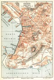 Trieste Italy Map by Free Maps Of Northern Italy