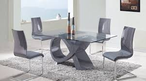Designer Glass Dining Tables Modern Glass Dining Table Canada Dining Table Set
