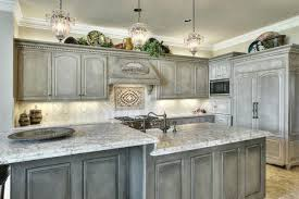 how to paint kitchen cabinets rustic distressed painted kitchen cabinets the kitchen