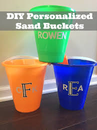 personalized buckets how to make a personalized family focus