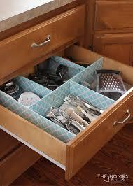 kitchen drawer organization ideas to make a customizable kitchen drawer organizer