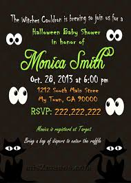 mis 2 manos made by my hands halloween baby shower invitation