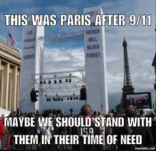 Meme France - meme perfectly explains why americans should stand with france