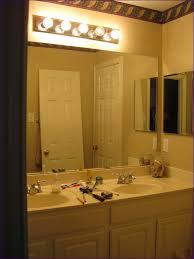 bathrooms 4 light vanity bar bathroom mirror and light ideas