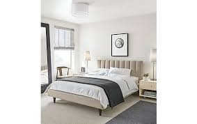 Room And Board Bed Frame Upholstered Bed Modern Bedroom Furniture Room Board