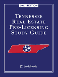 tennessee real estate pre licensing study guide lexisnexis store