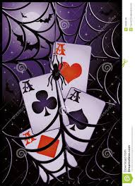poker halloween banner royalty free stock images image 26603159