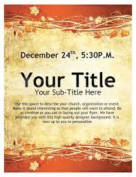 thanksgiving event flyer template flyer templates