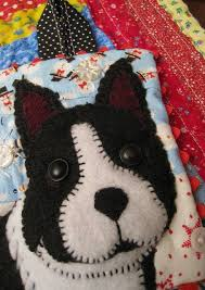 75 best ornaments images on felt dogs and