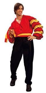 spanish rumba man flamenco dancer costume fun fancy dress mega