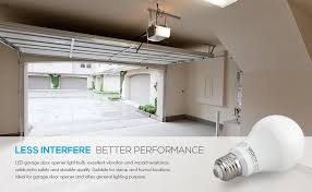 garage opener light bulb garage door opener led bulb 100w equivalent led a19 light bulb