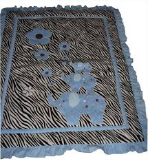 Zebra Nursery Bedding Sets by Baby Boutique Blue Zebra 14 Pcs Boy Crib Bedding Set Incl