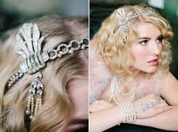 hairstyles inspired by the great gatsby she said united the great gatsby hair pieces wedding ideas