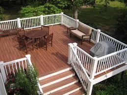 Backyard Deck Prices Deck Astonishing Synthetic Decking Synthetic Decking Trex