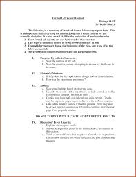 sample report format formal lab report example sop example formal lab report example formal lab report format 412767 formal