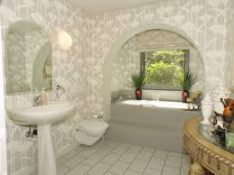 wallpapers for home decoration bathroom wallpaper borders realie org