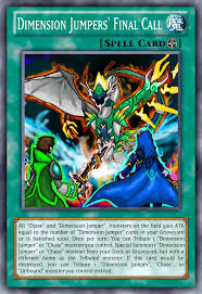 yu gi oh custom deck dimension jumper final call by chaselumsden