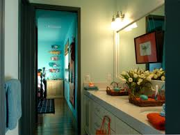 bathroom cute small kids bathroom ideas with colorful shower
