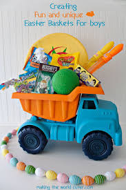 filled easter baskets boys 35 diy easter basket ideas unique easter baskets