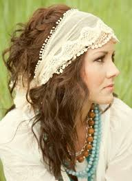 hippy headbands bridal headbands hippie bridal hairstyle with headband