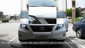 lexus rx 400h 2012 68 smd 9005 hb3 led daytime running lights on 2012 lexus rx 350