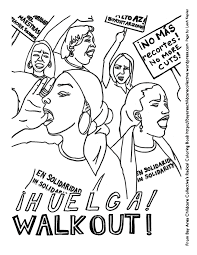 civil rights movement coloring pages eson me