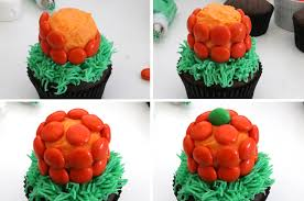 halloween pumpkin patch cupcakes two sisters crafting