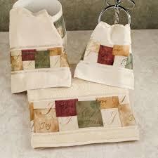 tranquility inspirational bath towel set