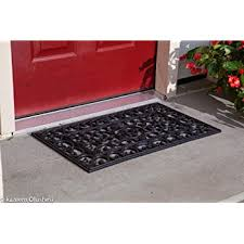Amagabeli Wipe Your Paws Doormat Amazon Com Cleanscrape Deluxe Door Mat 18 Inch By 30 Inch