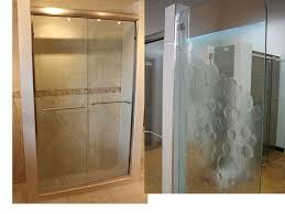 etched glass shower door designs sellabratehomestaging com