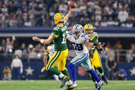 aaron rodgers improvised the most important pass of the year the