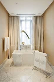 Lighting Curtains Small Freestanding Bathtubs Bathroom Contemporary With Ceiling