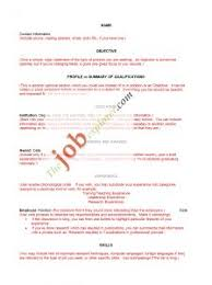 Free Resume Samples Pdf by Examples Of Resumes Resume Blanks Blank Pdf Template Within 93