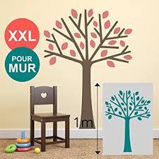 pochoir mural chambre grand pochoir 100 x 70 cm xl mural arbre pour mur chambre enfant