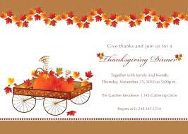 thanksgiving invitation template email invitations plus autumn