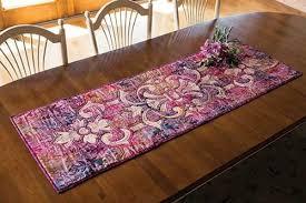 marrakesh table runner quilt kit keepsake quilting