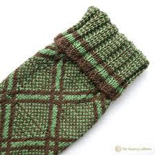 1850 s pattern knitted scottish kilt hose