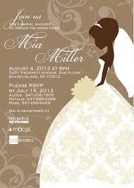 bridal shower invitation cards wording wedding invitation sample