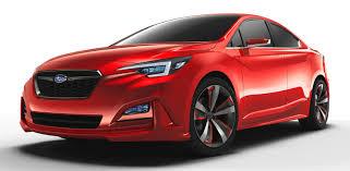 subaru impreza sedan la 2015 subaru impreza sedan concept breaks cover