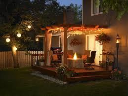 Backyard Patio Lights Impressive Ideas Patio Lighting Pleasing Patio Lights Crafts Home