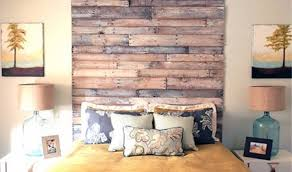 Pallet Wood Headboard 33 Dreamy Reclaimed Wood Headboards
