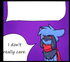 i really don t care meme by zander the artist on deviantart