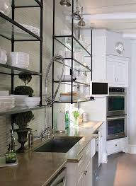 Best  Floating Glass Shelves Ideas On Pinterest Glass Shelves - Glass shelves for kitchen cabinets