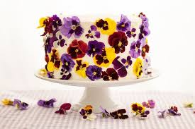 edible wedding cake decorations edible flower cakes let you enjoy beautiful blooms in sight and taste