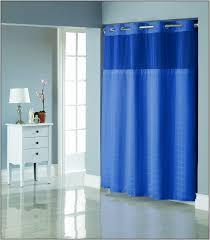 Palm Tree Shower Curtain Walmart by Bathroom Hookless Shower Curtain With Snap Liner Shower Curtain