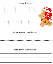 valentine u0027s day letters worksheets trace and write upper case