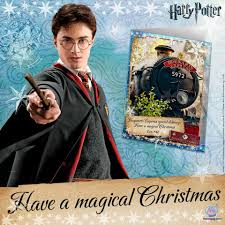 moonpig accio harry potter christmas cards perfect for
