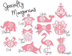 monogram stickers laptop monogram sticker vinyl monogram decal for computer